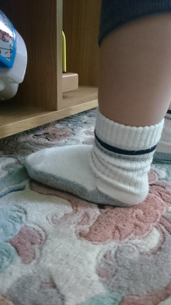 靴下 ずれる